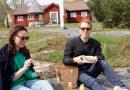 Snabbmat i parken uppskattas i Duvnäs