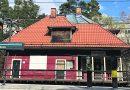Protester mot att SL vill riva stationshuset i Igelboda