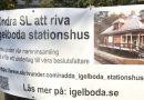 Många namnunderskrifter för stationshus