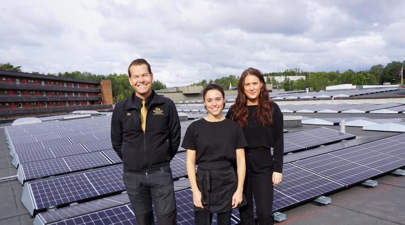 Centrum satsar på solenergi
